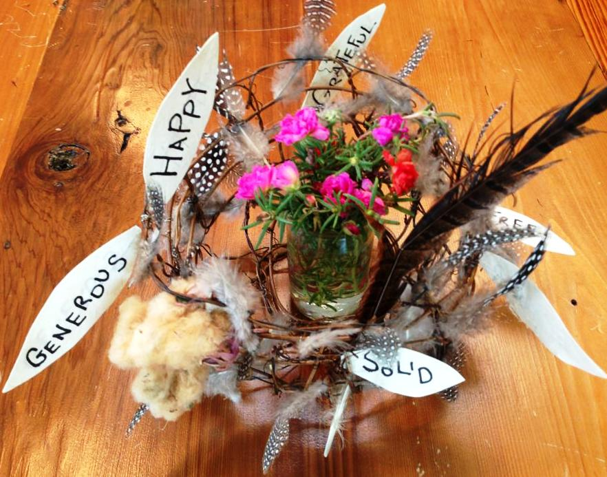 Birds Nest Centerpiece