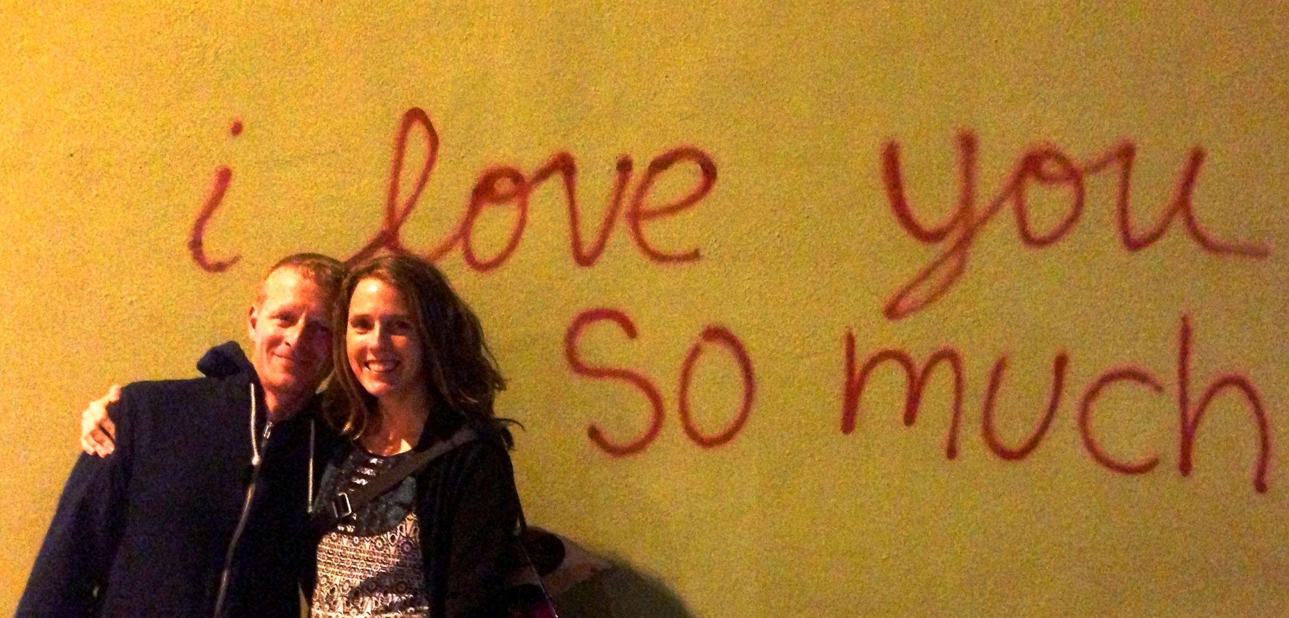 I love you so much_ Austin graffiti