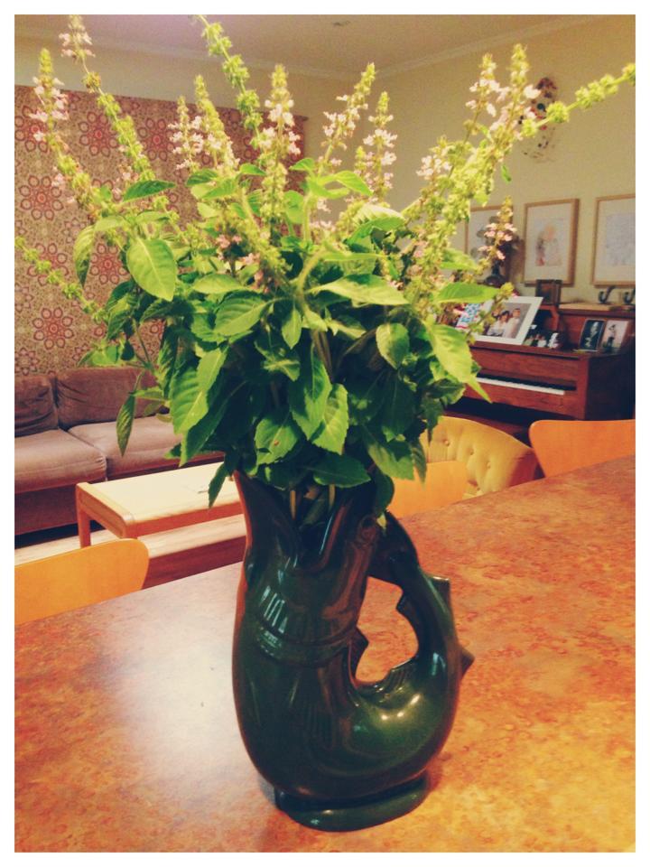 Tulsi in the Gurgling Cod Vase