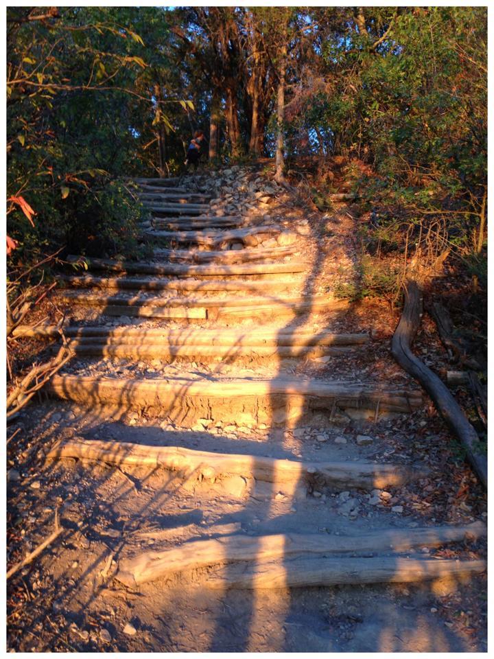 Stairs at Cedar Ridge