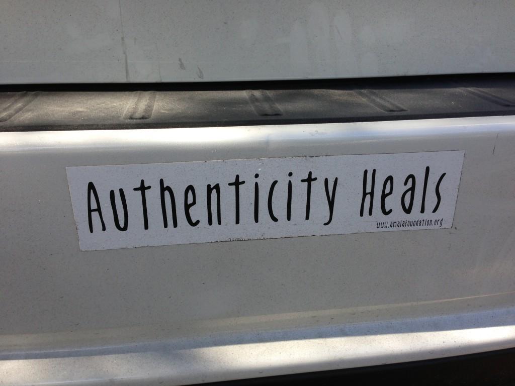 Bumper Sticker Truth