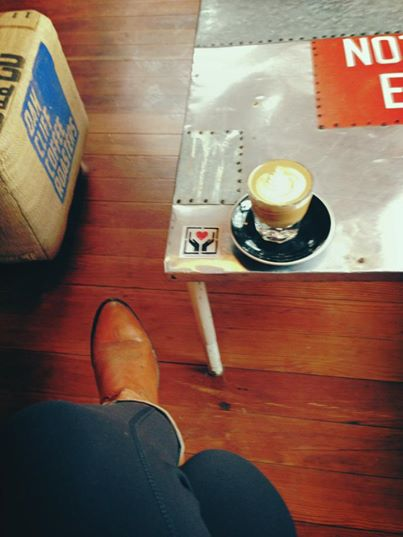 Post Yoga Cortado at Wild Detectives Coffee Shop + Bookstore