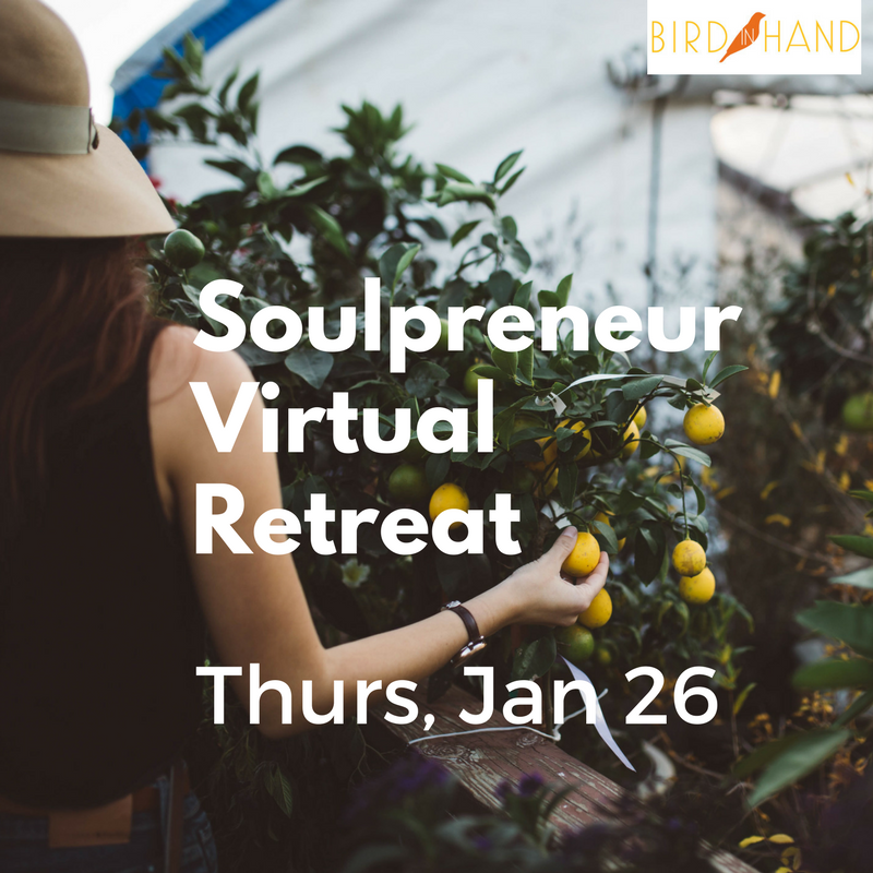 Could You Use a Do-Over? New Year Virtual Retreat Details + Big News