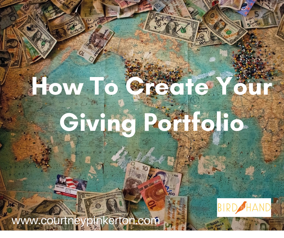 How To Create Your Giving Portfolio