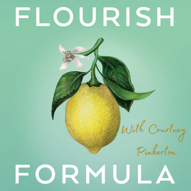 First Podcast Episode of The Flourish Formula! + One Magic Question for When You Feel Overwhelmed