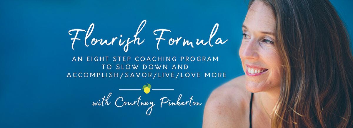 Flourish Formula Coaching Program for Women